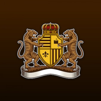 Tiger coat of arms