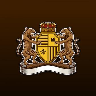 Тигр герб