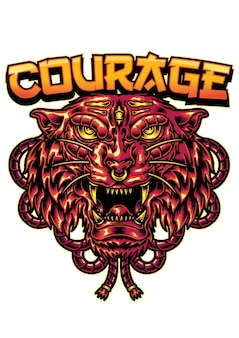 Tiger courage