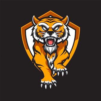 Tiger e sport logo