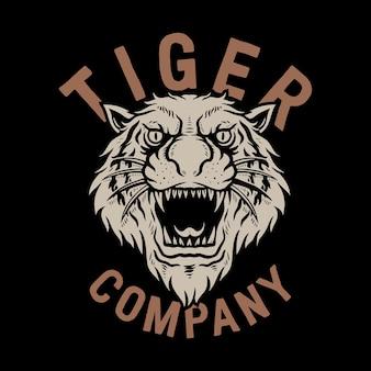 Эмблема тигр.