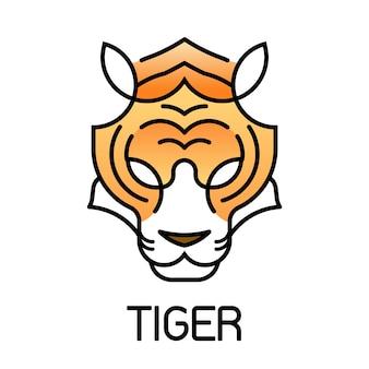 タイガーフェイスラインのアイコンスタイル