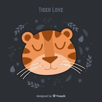 Faccia tigre