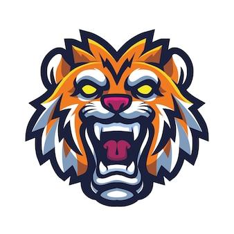 Киберспорт с головой тигра