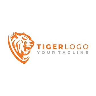 タイガーヘッドのロゴデザイン