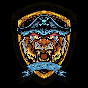 Пираты с головой тигра
