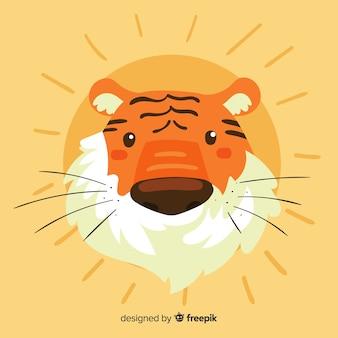 Голова тигра