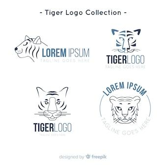Tiger logo collection