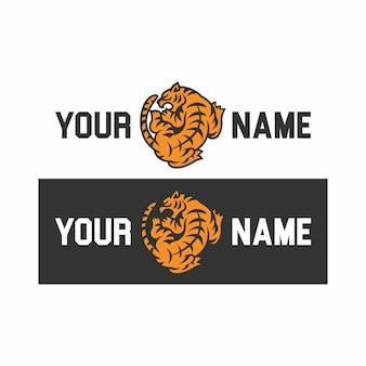 虎のロゴ。
