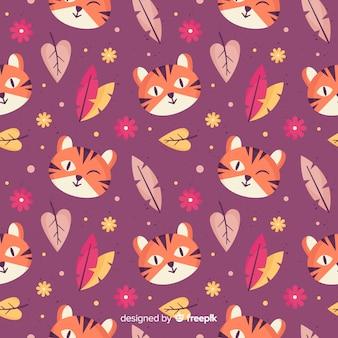호랑이 패턴