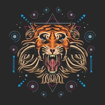 Tiger sacred