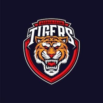 Tiger sports illustration