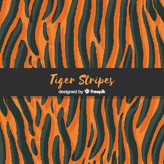 Tiger stripes background
