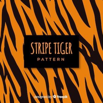 Sfondo di strisce di tigre