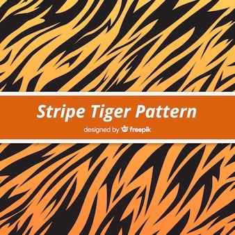 호랑이 줄무늬 패턴