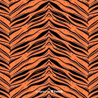 Tiger stripes pattern
