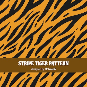 Tiger stripes pattern
