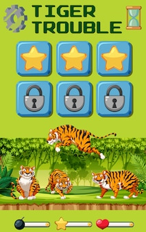 Tiger trouble game