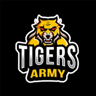 Логотип tigers army esport