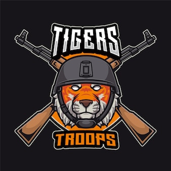 Логотип тигров войска