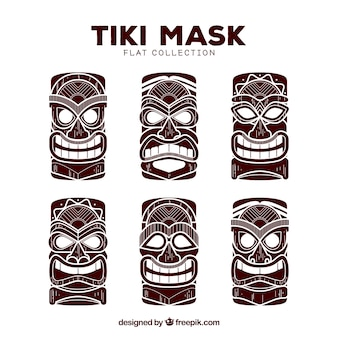 Tiki mask collection