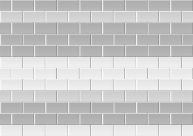 타일 배경. 벽돌 질감입니다. 정사각형 타일.