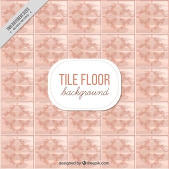 Tile floor background design