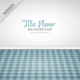 タイル張りの床の背景