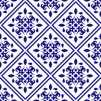 Tile pattern seamless vector