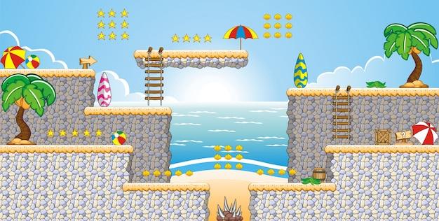 Tile set platform for creating game application