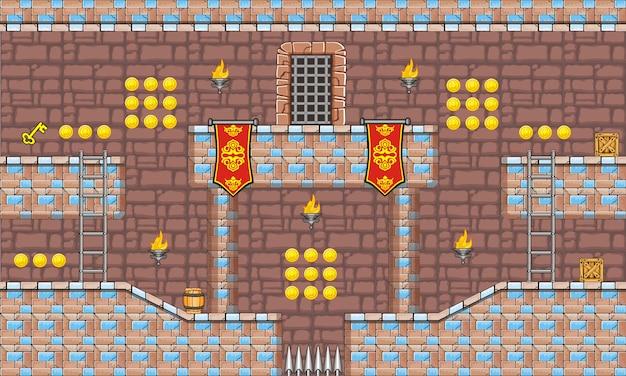 Tileset platform for creating mobile game