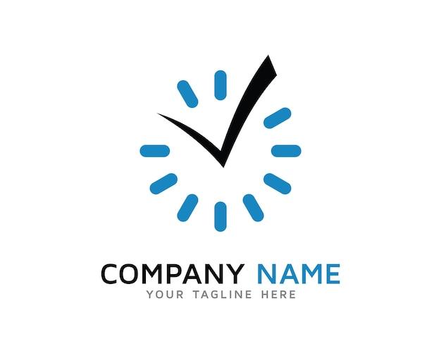 Дизайн логотипа time check