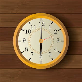 Time clock vintage design