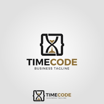Time code logo template