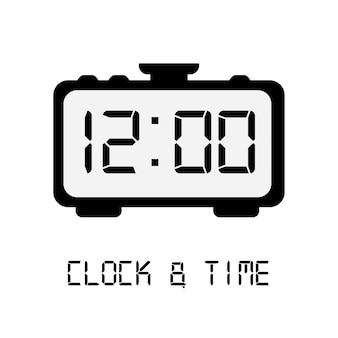 Time icon design