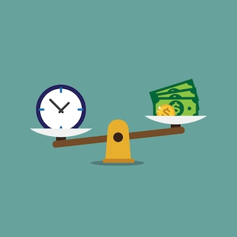 time is money  background design