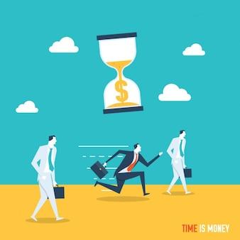 시간은 돈 배경