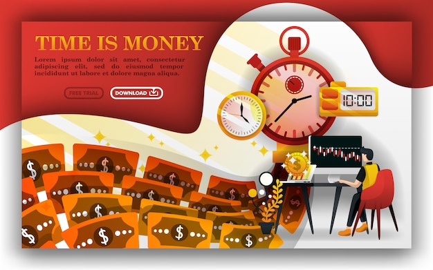 Time is money or a money machine