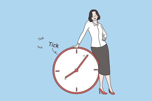 시간 관리 및 마감 개념