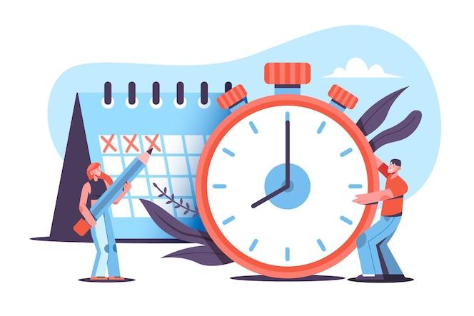 시간 관리 개념