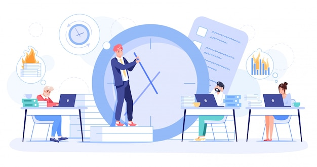 Time management, failure deadline productivity