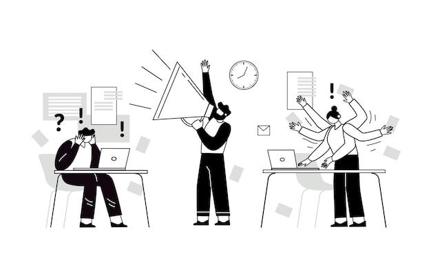 時間管理は成功への鍵です作業時間管理の概念