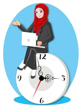 Time management with clock