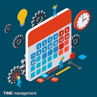 Time management, work planning
