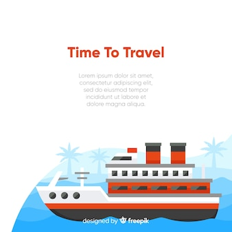 Time to travel background