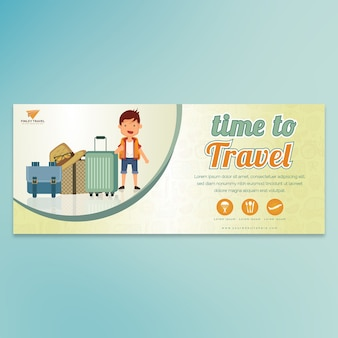 Time to travel cartoon home page banner-01