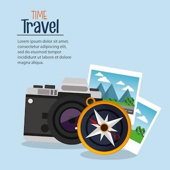 Навигация по путешествию по фотокамере во время путешествия