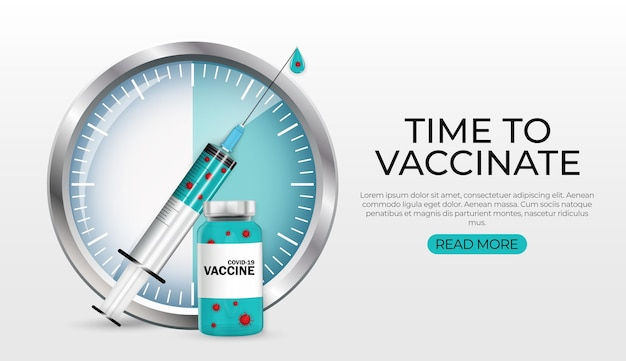 Time to vaccinate 2021.coronavirus vaccination