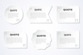 Timeless wisdom quotes icons set
