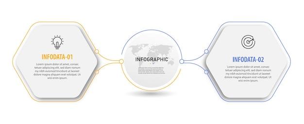 Хронология круговая диаграмма инфографики бизнес